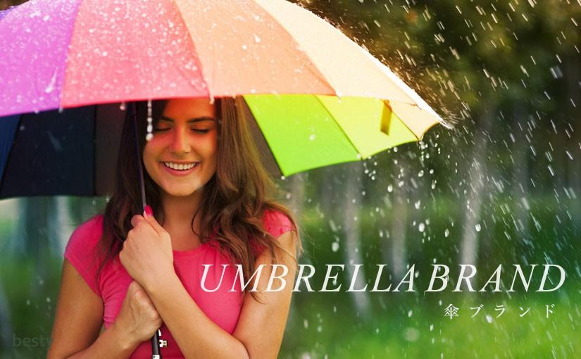 【傘ブランド】おしゃれかつ折れにくい!女性におすすめな傘メーカー12選