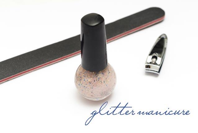 glittermanicure