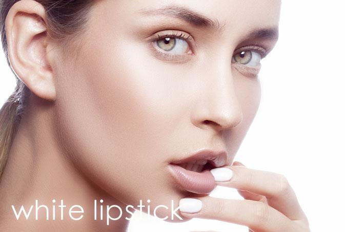 white_lipstick