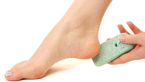 pumice-heel